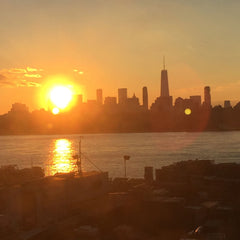 Sunset from Greenpoint, Brooklyn