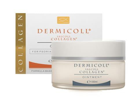 Dermicoll Marine Collagen Ointment For Eczema Treatment Natural
