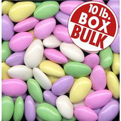 Assorted Jordan Almonds 10LB Bulk