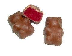 Chocolate Covered Cinnamon Bears 27LB Bulk