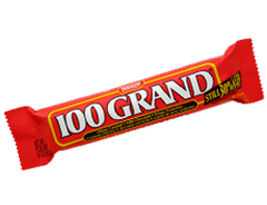 100 Grand Chocolate Bar 1.5oz 36 Count