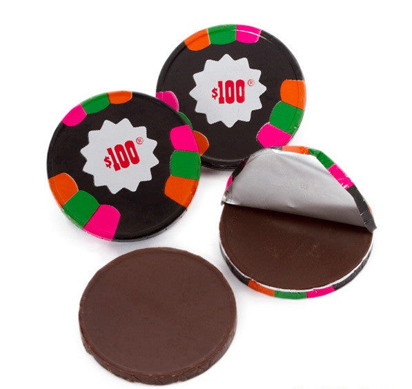 Dark Mint $100 Black Poker Chips in Bulk 10LB