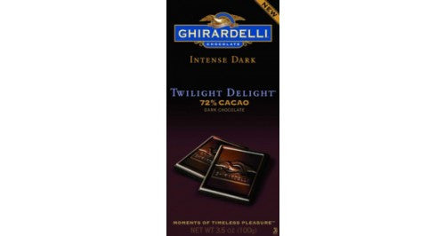 Dark Chocolate Twilight Delight 72% Cocao 12 Count