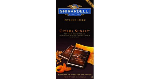Dark Chocolate Citrus Sunset 3.5oz 12 Count