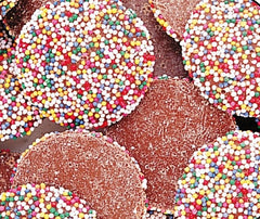 Rainbow Milk Chocolate Wafers 50LB