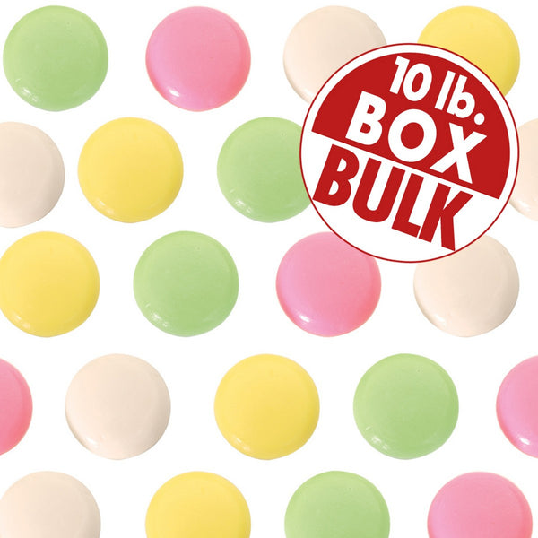 Jelly Bellys Mint Cremes - 10 lbs bulk
