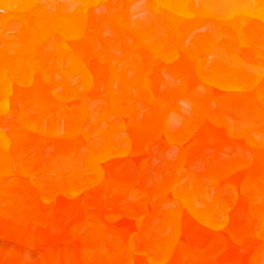 Gummi Bears Orange 5LB Bulk