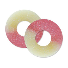 Strawberry-Banana Gummi Rings 4.5LBS