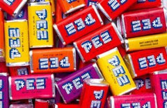 Pez Fruit Mini Rolls 21LB Bulk