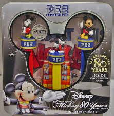 PEZ Disney Mickey 80th Gift Tin