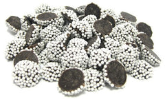 Chocolate Nonpareils (Dark Chocolate with White Seeds) 25LB Bulk