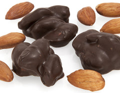 Chocolate Almond Cluster Sugar Free 5LB Bulk