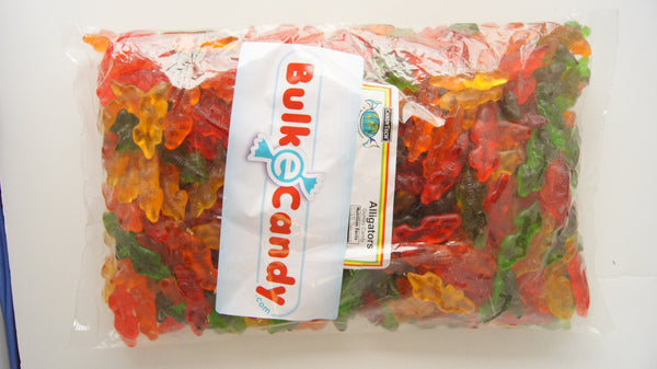 Gummi Alligators 5LB Bulk