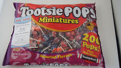 Tootsie Miniature Roll Pops 200 Count