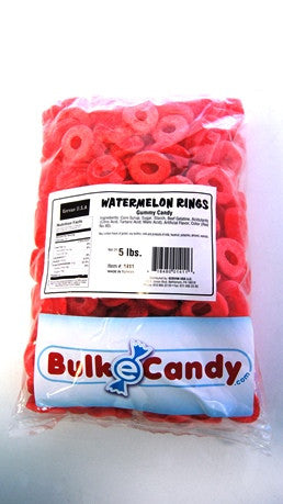 Water Melon Rings 5LB Bulk