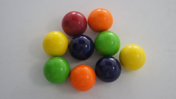 "Double Bubble Assorted Gumballs 1"" 850 Count Bulk"
