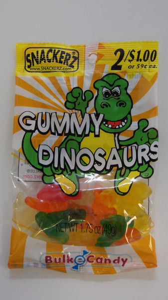 Gummy Dinosaurs 2/$1 (12 Count)