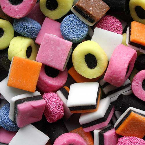 Licorice Allsorts 5LB Bulk