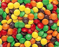 M&M Minis Semi-Sweet 25LB Bulk