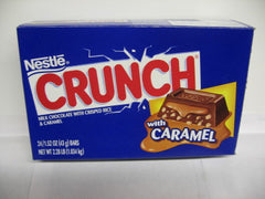 Crunch Bar Caramel 1.52oz 24 Count