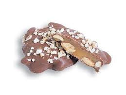 Chocolate Almond Caramel Pattie Sugar Free 4LB Bulk
