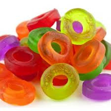 Gummi Assorted Mini Rings 5LB Bulk