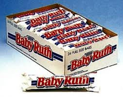 Baby Ruth Bar 2 1oz 24 Count Bulkecandy Com Bulkecandy