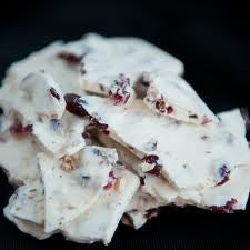 White Cranberry Almond Bark 5LB Bulk