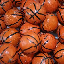 Milk Chocolate Basketballs 5LB Bulk
