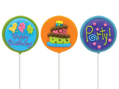 Birthday Lollipal 24 Count