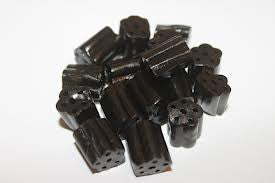 Sugar Free Black Licorice Bites 5LB
