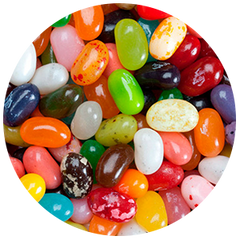 Jelly Belly 10 Flavors Sours Mix in bulk 10lbs