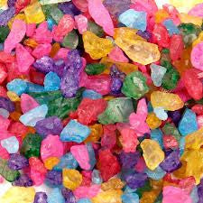 Assorted Rock Candy Crystals 5LB Bulk