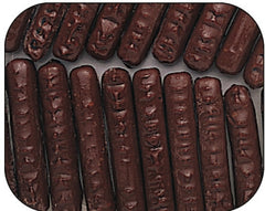 Dark Chocolate Raspberry Sticks 7.5LB Bulk