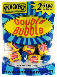 Double Bubble 2/$1 (12 Count)