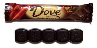 Dove Dark Chocolate Bar 24 Count
