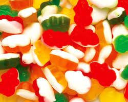 Gummi Assorted Frogs 5LB Bulk