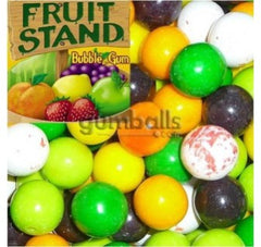 "Fruit Stand Gumballs 1"" 850 Count Bulk"