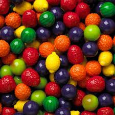 "Fruit Shaker Gumballs 1"" 850 Count Bulk"