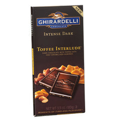 Dark Chocolate Toffee Interlude 3.5oz 12 Count