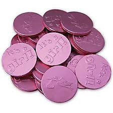 Fort Knox Chocolate Coins It's a Girl 1LB
