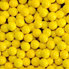 Golden Yellow Sixlets 10LB Bulk