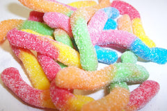 Sour Gummi Worms 5LB Bulk