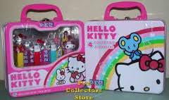 Pez Hello Kitty Lunch Box Gift Tin