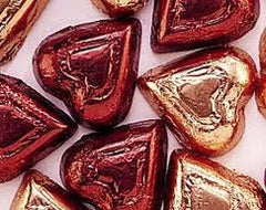 Dark Chocolate High Cocoa Content Hearts 5LB Bulk