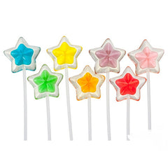 Twinkle Pop 2 Tone Stars 120 Count
