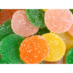 Sunkist Fruit Gems Candy - Unwrapped: 10LB Case