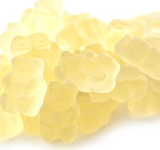 Gummi Bears Popping Pineapple 5LB Bulk