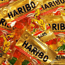 Haribo Gummi Gold Bears 72-Piece Tub