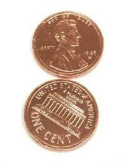 Milk Chocolate Copper Penny 10LB Bulk